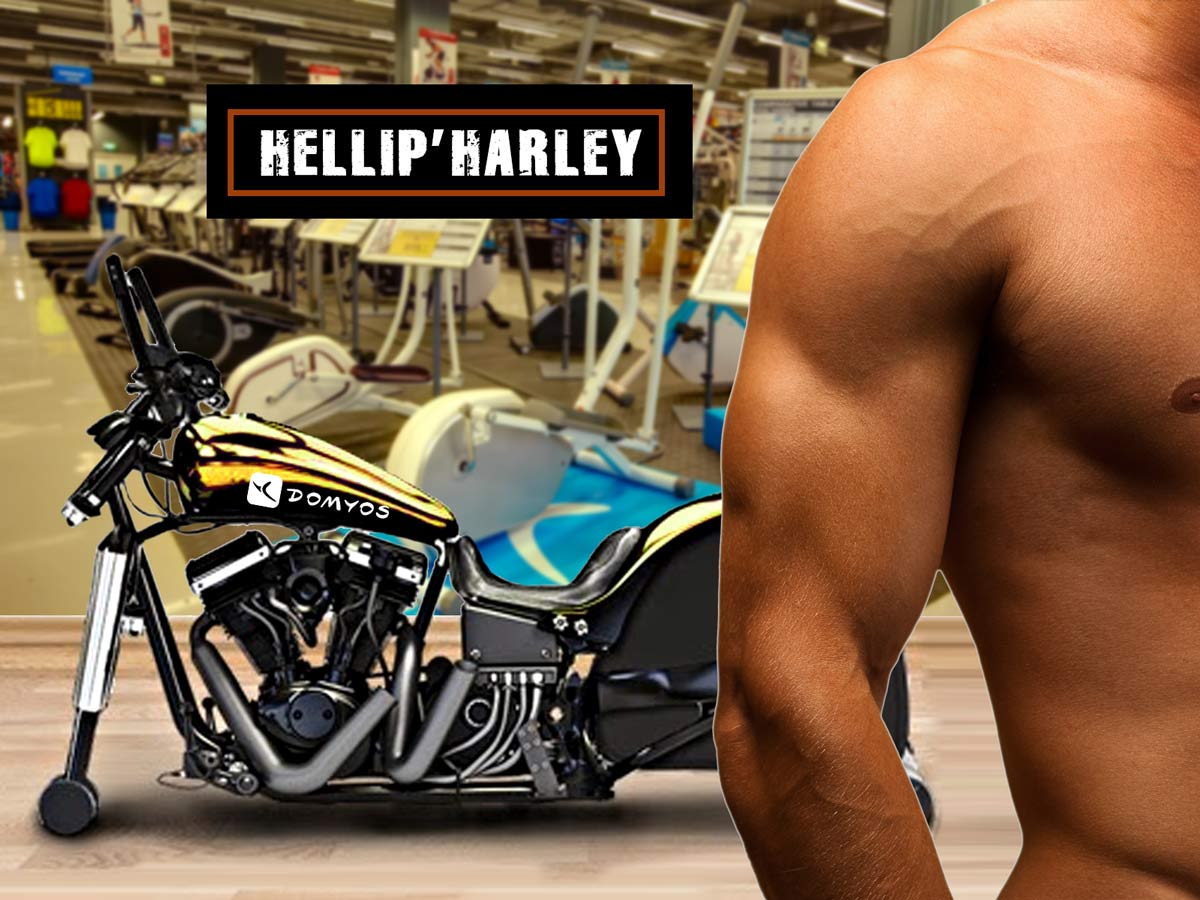 Fitness : une Harley d'appartement pour entretenir sa forme