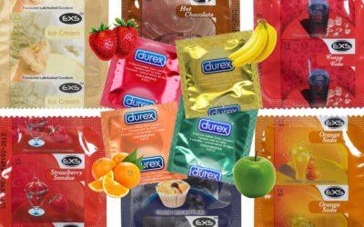 Les préservatifs aromatisés bientôt interdits au vu de leur teneur trop élevée en sucre